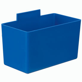 Quantum Little Inner Bin Cup QBC112  for Plastic Stacking Bins - 2-3/4 x 5-1/4 x 3 Blue - Pkg Qty 48
