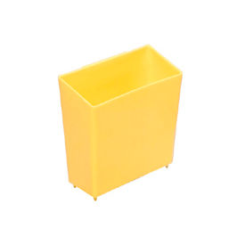 Little Bin For Plastic Bins - 4 x 2 x 4 Yellow - Pkg Qty 50