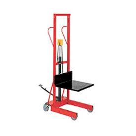 Wesco® Compact Lift Truck Foot Pedal Lift with Platform 260150 500 Lb. Cap.