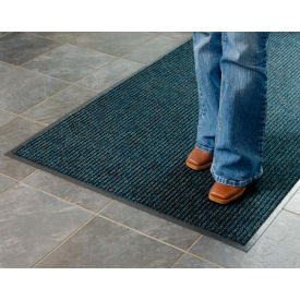 Deep Cleaning Ribbed Entrance Mat 3x4 Blue