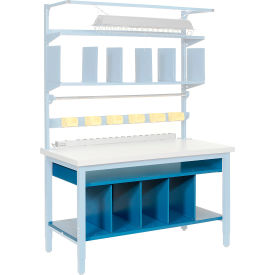 """60""""W Lower Shelf Kit with Dividers"""