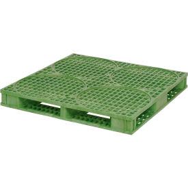 ORBIS Deluxe 4-caisse palette 48 x 48HDDRM - 48 x 48 vert