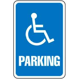 "Aluminum Sign - Parking Sign - Handicap Symbol, .063"" Thick, 649151"