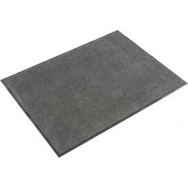 "Plush Super Absorbent Mat 48""W X 96""L Charcoal"