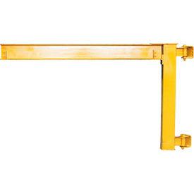 Abell-Howe® Under-Braced Wall Mounted Jib Crane 960019 2000 Lb. Capacity