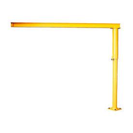Abell-Howe® Light Duty Floor Crane 4S0008 500 Lb Cap. 10' Span 10' Under Beam Height