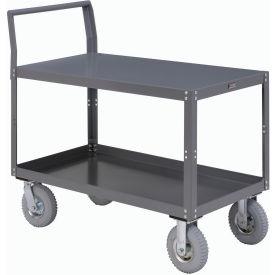 Two Shelf Unassembled Heavy Duty Service Cart 48 x 30 1200 Lb. Capacity
