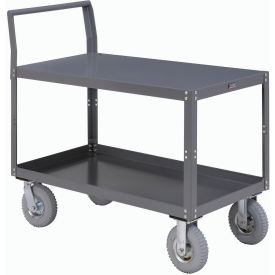 Two Shelf Unassembled Heavy Duty Service Cart 60 x 30 1200 Lb. Capacity