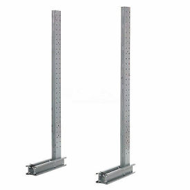 """Cantilever Rack Single Sided Upright, 33"""" D x 8' H, 7600 Lbs Capacity"""