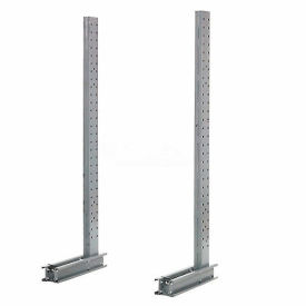 "Cantilever Rack Single Sided Upright, 45"" D x 8' H, 4600 Lbs Capacity"