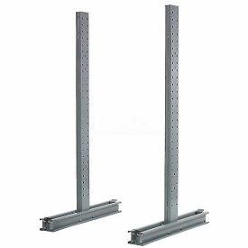 "Cantilever Rack Double Sided Upright, 54"" D x 6' H, 16200 Lbs Capacity"