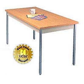 """Allied Plastics Utility Table - 30""""W X 60""""L - Oak"""