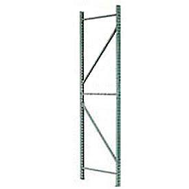 Husky Rack & Wire IU24420144 Pallet Rack Tear Drop Upright Frame - 144x42