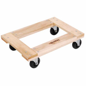 Hardwood Dolly with Open Deck 24 x 16 1000 Lb. Capacity