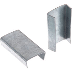 "Steel Strapping Seals For Use With 5/8""W Steel Strapping Tools - 1,000 Pack"