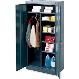 "Edsal Combination Cabinet - 36 x 18 x 72"" - Gray"