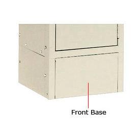 "Tennsco Steel Locker Front Base FB12-SND For Lockers With 6""H Legs Sand"