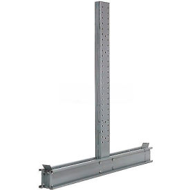 "Cantilever Rack Double Sided Upright, 83"" D x 10' H, 20600 Lbs Capacity"