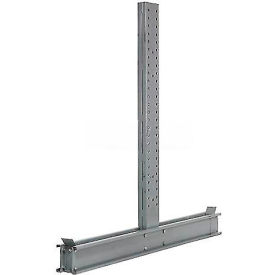 """Cantilever Rack Double Sided Upright, 59"""" D x 14' H, 24600 Lbs Capacity"""