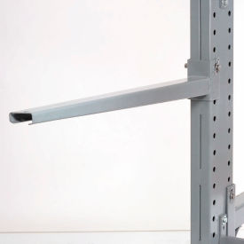 "Cantilever Rack Straight Arm No Lip, 48"" L, 600 Lbs Capacity"