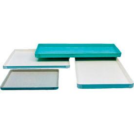 """Moulé en fibre de verre convoyeur/Assemblée plateau 603101-36-1/2"""" L x 24-3/4"""" W x 1-1/2 «H blanc, qté par paquet : 6"""