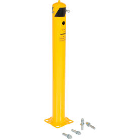 Steel Smoker'S Bollard 1 1/4 Inch Diameter With Bolt Kit