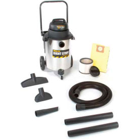 Shop-Vac® 10 Gallon Stainless Steel 6.5 Peak HP Wet Dry Vacuum - 9626510- Pkg Qty 1
