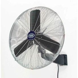 Oscillating Wall Mount Fan 24 Inch Diameter 1/4HP 7525CFM