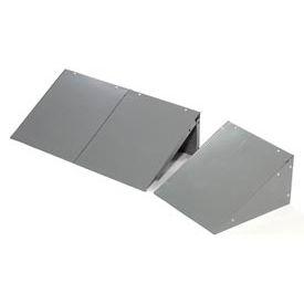 Global™ Locker Slope Top Kit 12x15 Gray