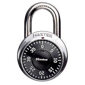 "Master Lock® No. 1502 Combination Padlock 3/4"" Shackle - No Control Key access - Pkg Qty 5"