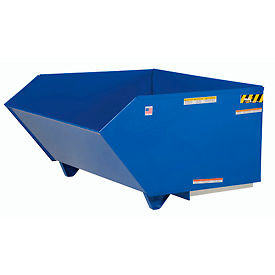 Vestil Low-Profile Self-Dumping Forklift Hopper H-100-MD 1 Cubic Yard 4000 Lb. Cap.