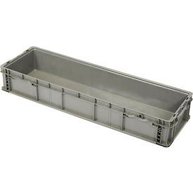 ORBIS Stakpak SO4815-7 Plastic Long Stacking Container 48 x 15 x 7-1/2 Gray