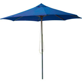 Leisure Craft 8-1/2' Outdoor Umbrella Blue