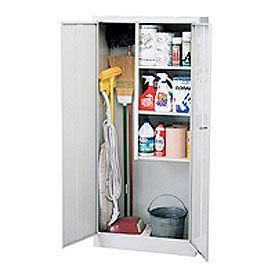 Sandusky Classic Series Janitorial Storage Cabinet VFC1301566 - 30x15x66, Gray