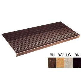 """Vinyl Tread Rib Pattern 36""""W Black - Pkg Qty 4"""
