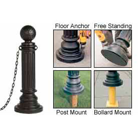 Eagle Decorative Post Sleeves Golf Style, 1714BLK