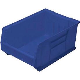 Quantum Hulk Plastic Stacking Bin QUS974BL 16-1/2 x 29-7/8 x 11 Blue