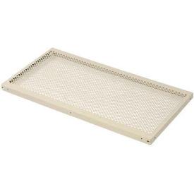 "Perforated Steel Shelf 48""W X 12""D"