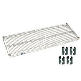 Nexel® Chrome Wire Shelf 48 x 18 with Clips
