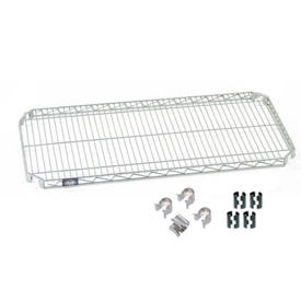 """Nexel S2436AC Quick Adjust Wire Shelf 36""""W x 24""""D with Hooks and Clips"""
