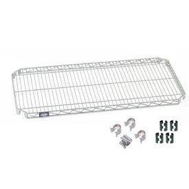 Nexel® Quick Adjust Shelf 48x18 with Clips & 4 Hooks