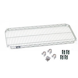 Nexel® Quick Adjust Shelf 48x24 with Clips & 4 Hooks