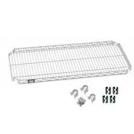Nexel® E-Z Adjust Shelf 48x18 with Clips & 4 Hooks