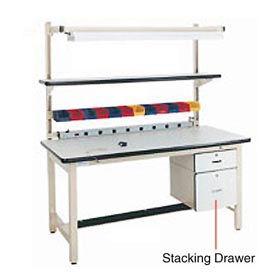 "6""H Lockable Stacking Drawer- Pkg Qty 1"