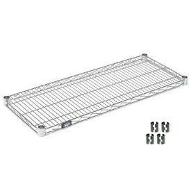 """Nexel® S1824C Chrome Wire Shelf 24""""W x 18""""D"""