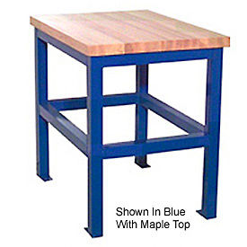 18 X 24 X 36 Standard Shop Stand - Maple - Black