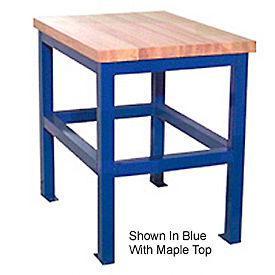 18 X 24 X 30 Standard Shop Stand - Plastic  Blue