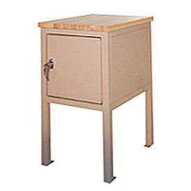24 X 36 X 36 Cabinet Shop Stand - Maple- Blue