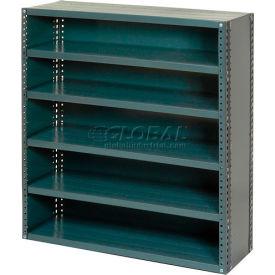 Steel Closed Shelving 6 Shelves No Bin - 36x12x39