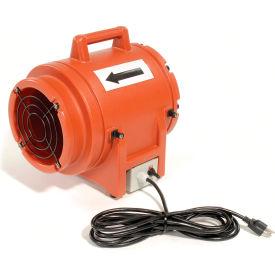 "ECKO 8"" Portable Ventilation Fan K20 1/3 HP 980 CFM- Pkg Qty 1"